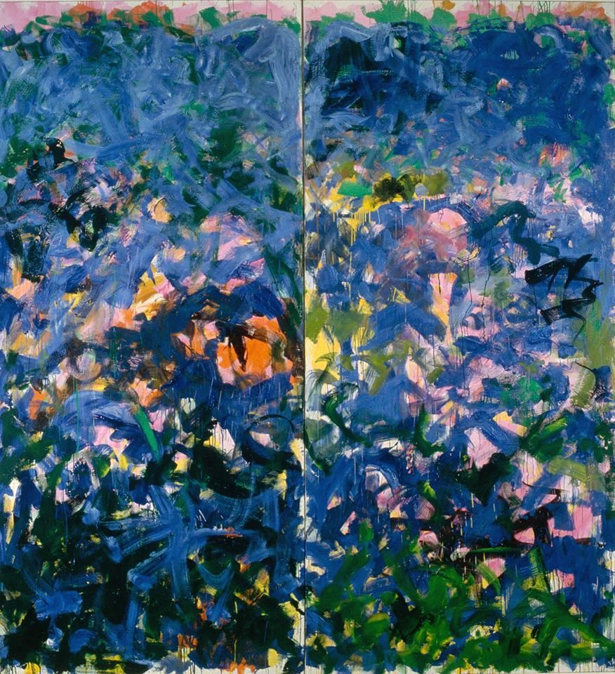 Joan Mitchell La Grande Vallee Xvii 1984 Joan Mitchell Garden Painting Abstract Art Painting