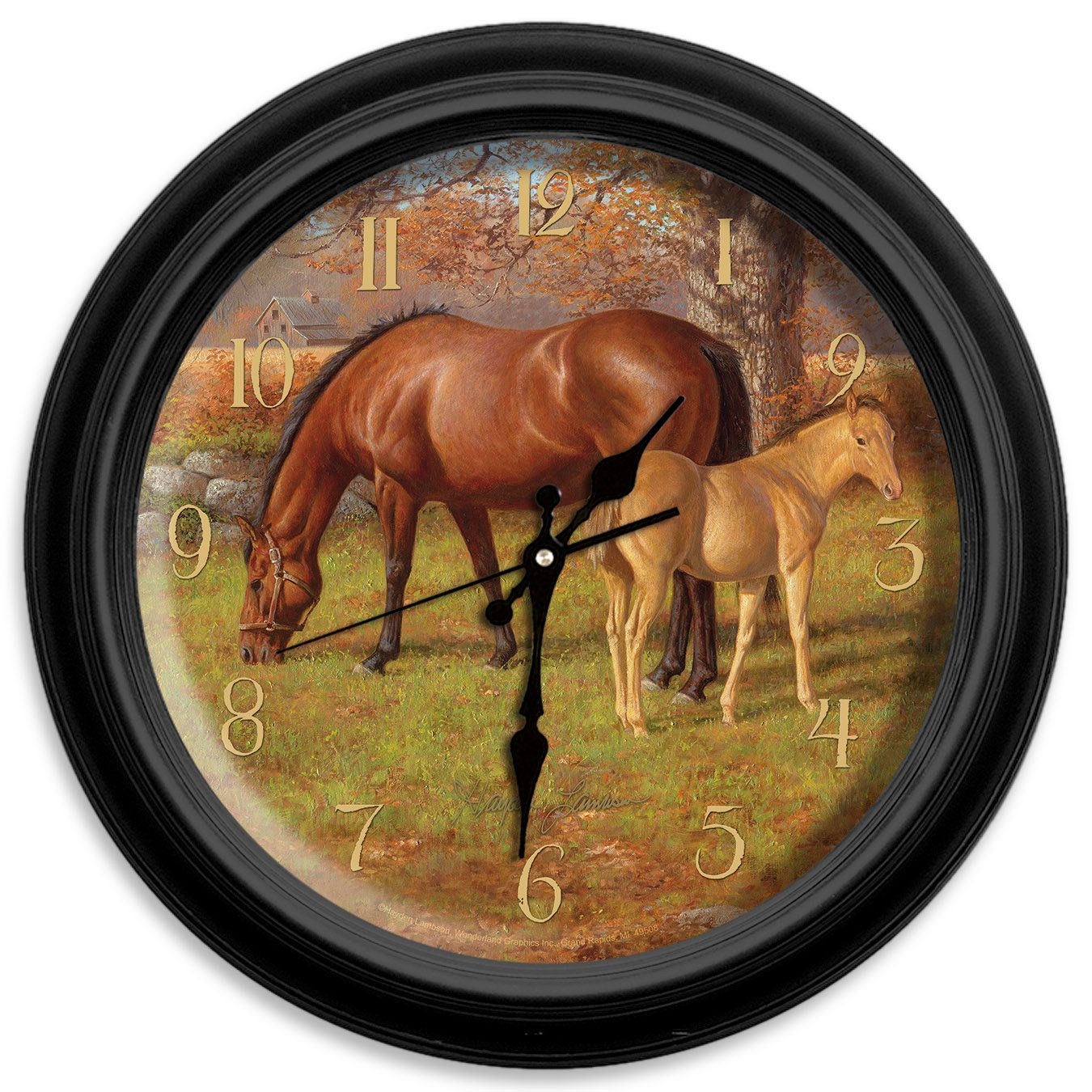 Classic wildlife 16 a proud heritage wall clock products classic wildlife 16 a proud heritage wall clock amipublicfo Image collections