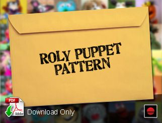 The Roly Puppet Pattern from ProjectPuppet.com