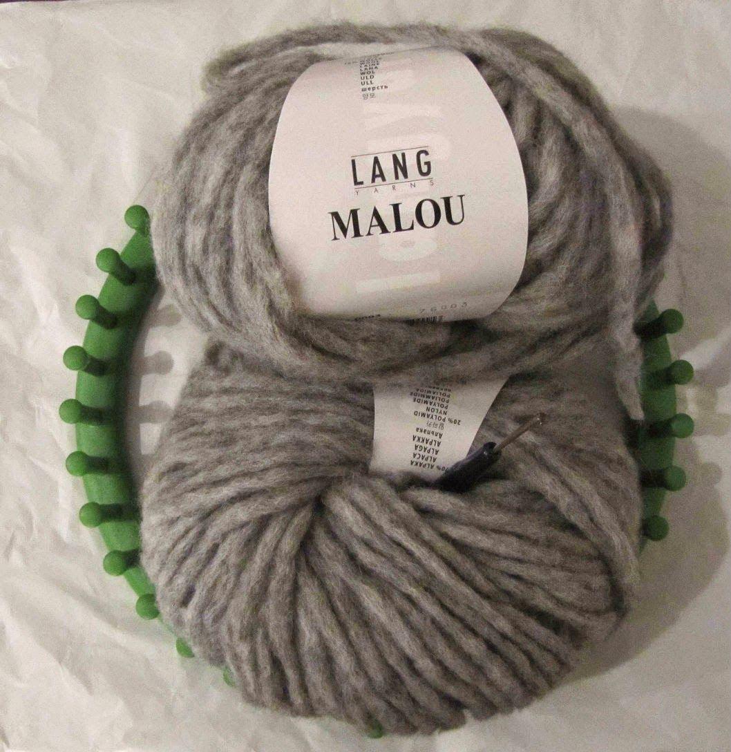 Les mercredis d Héloïse   Apolline  Un snood à tricoter sans aiguille! a4ce98d491d