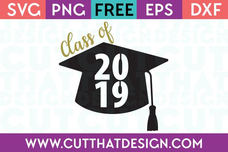Download Free SVG Files | Graduation cap images, Class of 2019 ...