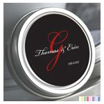 Personalized Tin Mints - Bickm Monogram: ForeverWed, Wedding Favors