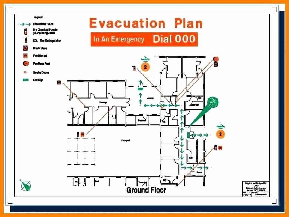 Home Evacuation Plan Template Elegant Fire Escape Plan