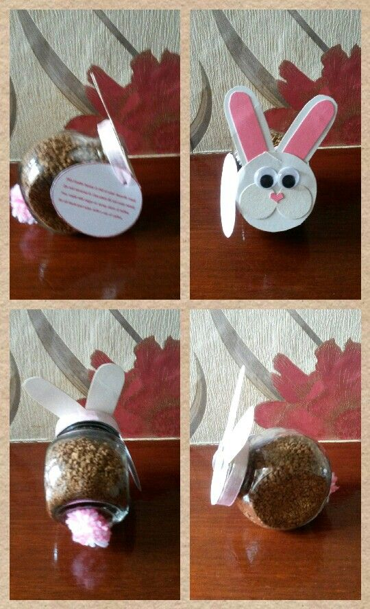 Coffee filled bunny poem reads this easter bunny is full of your no chocolate easter present poem reads this easter bunny is full of your favorite treat its not covered in chocolate its not even sweet you could add negle Choice Image