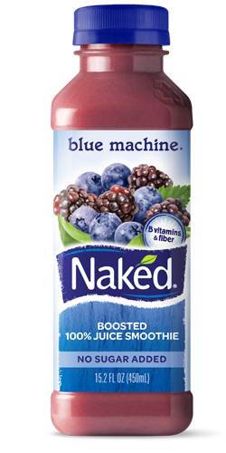 Naked Juice Smoothie Blue Machine 27 Blueberries 3 Blackberries