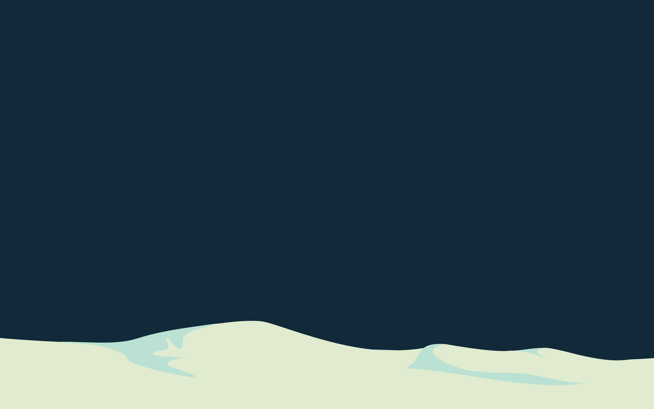 2560 x 1600. Snow drifts.