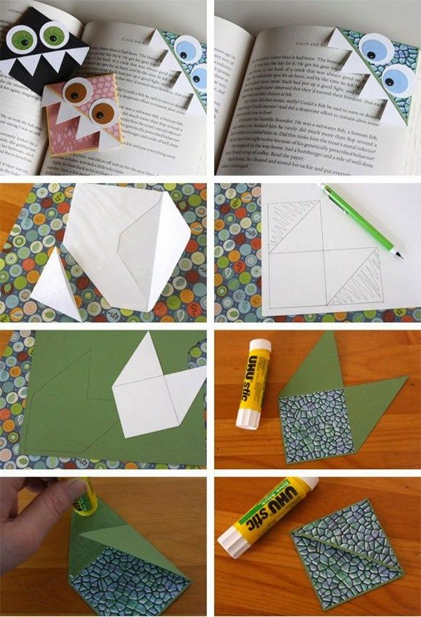 Easy Craft Ideas For Kids To Make At Home Creative Diy Bookmarks