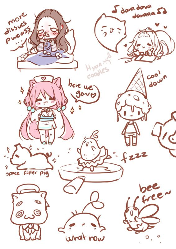 Random silly time by Hyan-Doodles | finding my art style | Pinterest