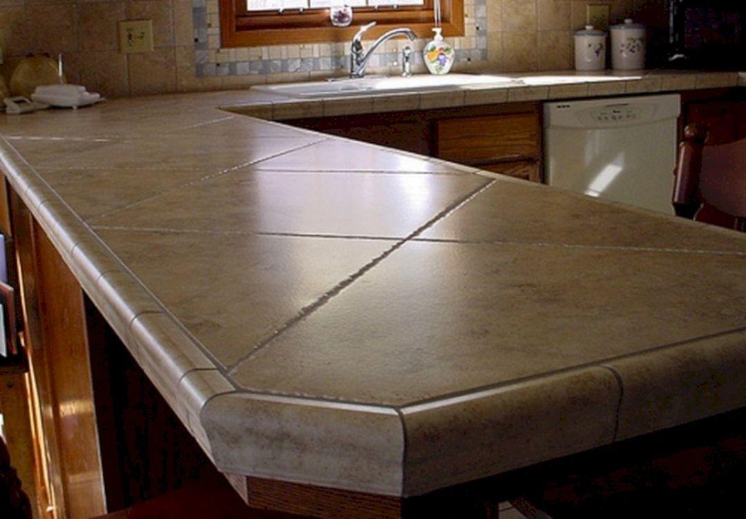tile countertops kitchen tile