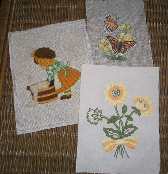 Embroidery cross stitch samplers by bridgendcreations on Etsy