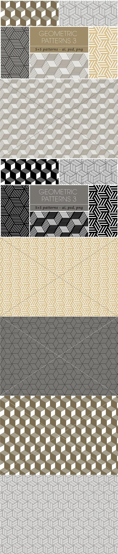 Seamless Geometric Patterns 3. Patterns