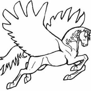 http://www.kidsplaycolor.com/unicorn-pegasus-coloring-page ...