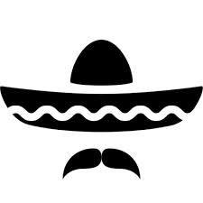 Mexican  moustache Cinco De Mayo 8649de5ef7d