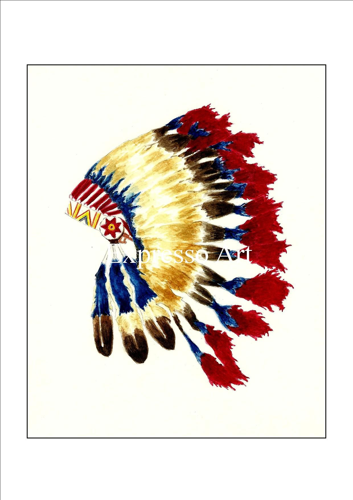 Cherokee headdress this is available at the price of 10