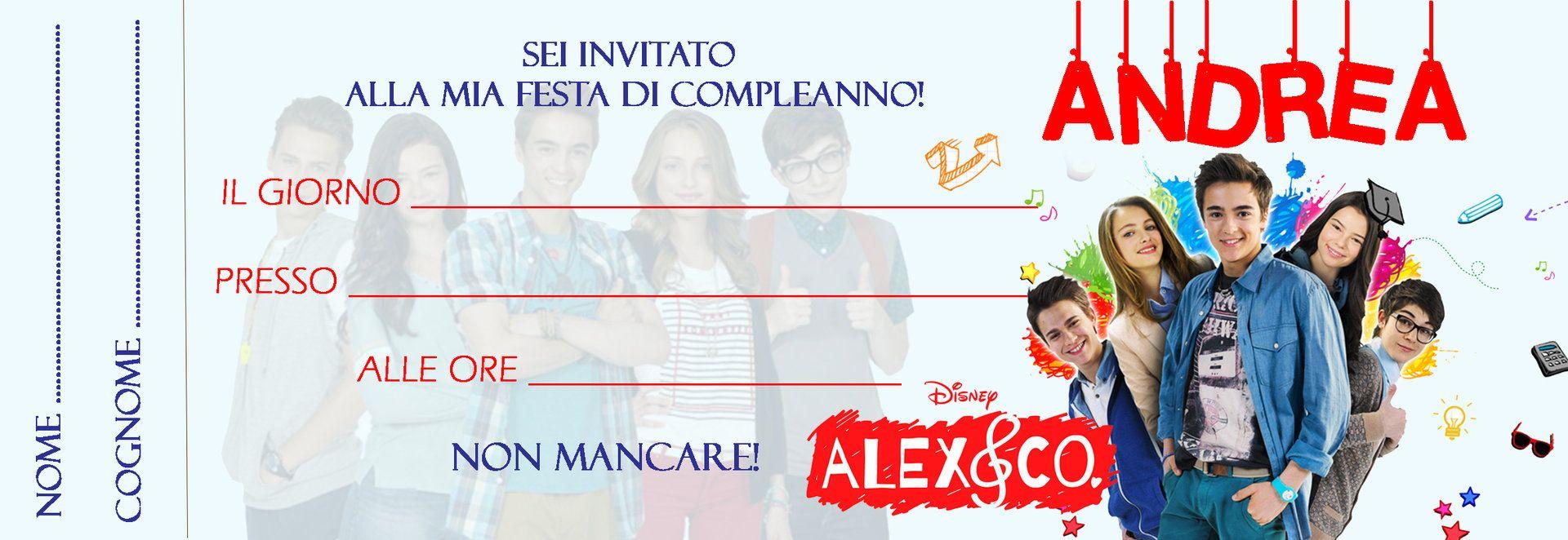Inviti Alex Co Inviti Per Feste Personalizzabili Pinterest