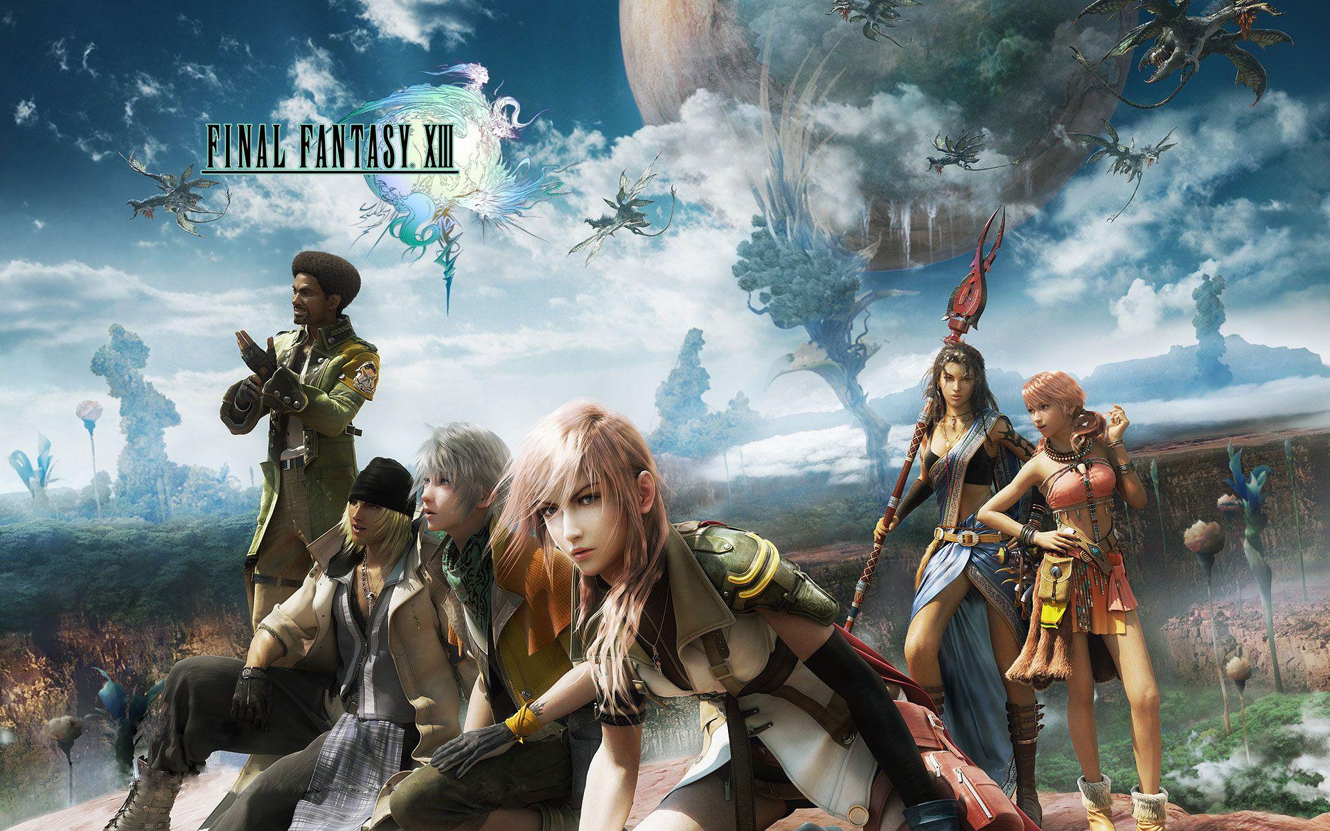 Final Fantasy Xiii Hd Wallpapers In Hd Final Fantasy Wallpaper