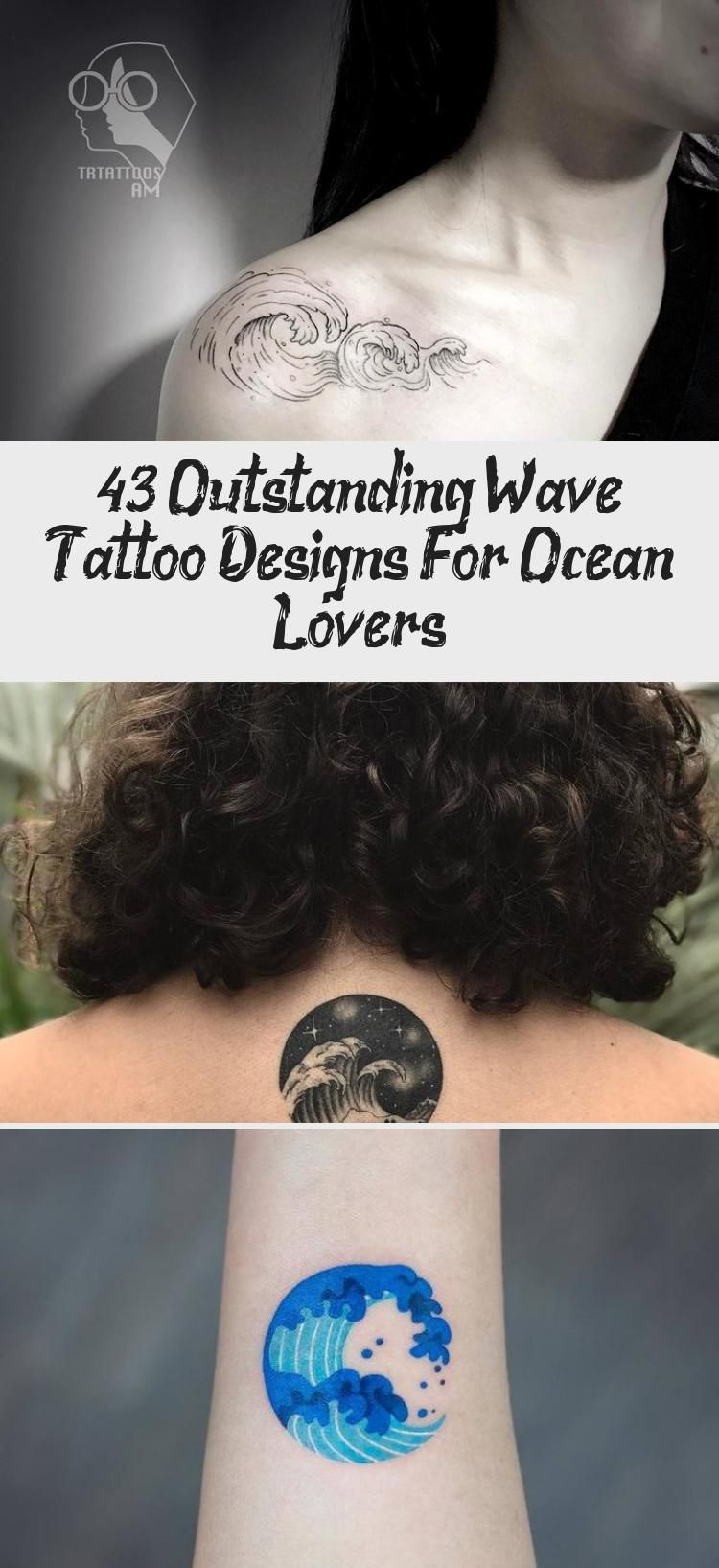 Photo of 43 Outstanding Wave Tattoo Designs For Ocean Lovers – Tattoos and Body Art