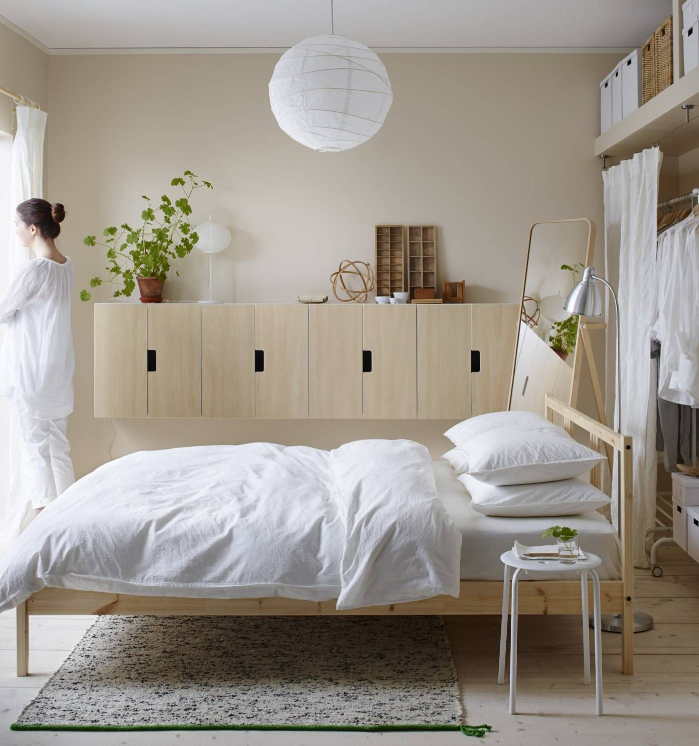Scandinavian Interior Bedroom, Ikea Interior, Diy Bedroom, Bedroom Inspo, Student
