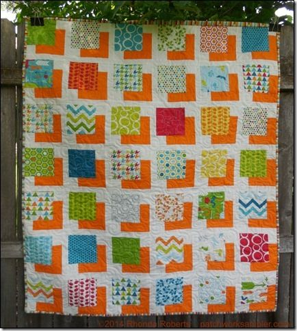 """One charm pack of (42) 5"""" squares. One yard of background fabric ... : charm squares quilt - Adamdwight.com"""