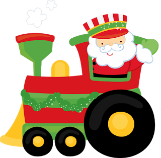 christmas santa train clip art clip art christmas 1 clipart rh pinterest co uk  christmas train clipart black and white