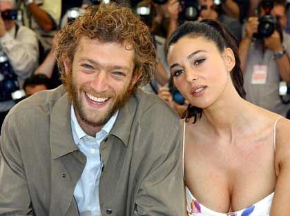 Vincent Cassel and his wife Monica Belucci | Monica ...