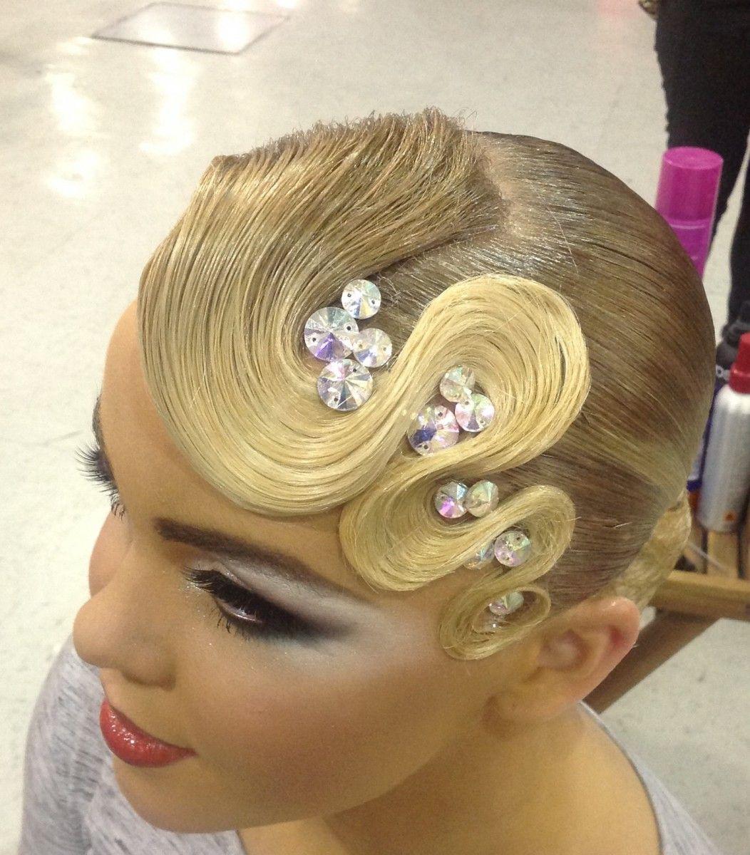 Dance Images Julia Karaseva Dance Competition Hair Competition Hair Dance Hairstyles