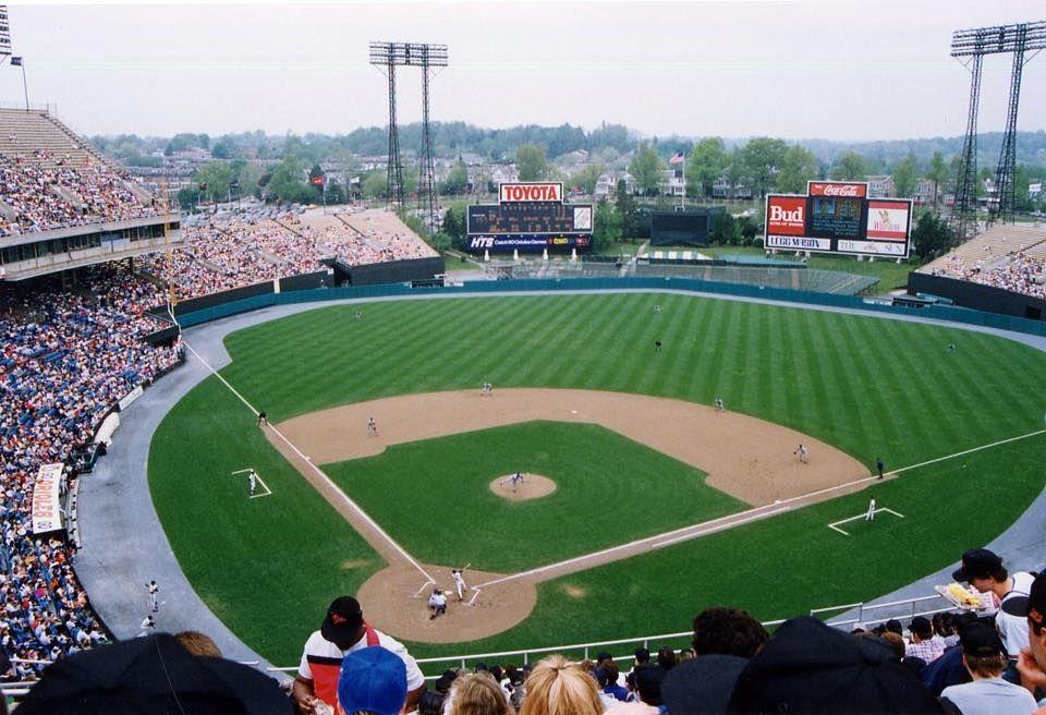 Memorial Stadium In 2020 Mlb Stadiums Baseball Stadium Baseball Park
