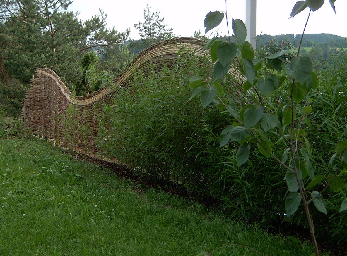 Der Weidenzaun Weidenzaun Weiden Garten Deko