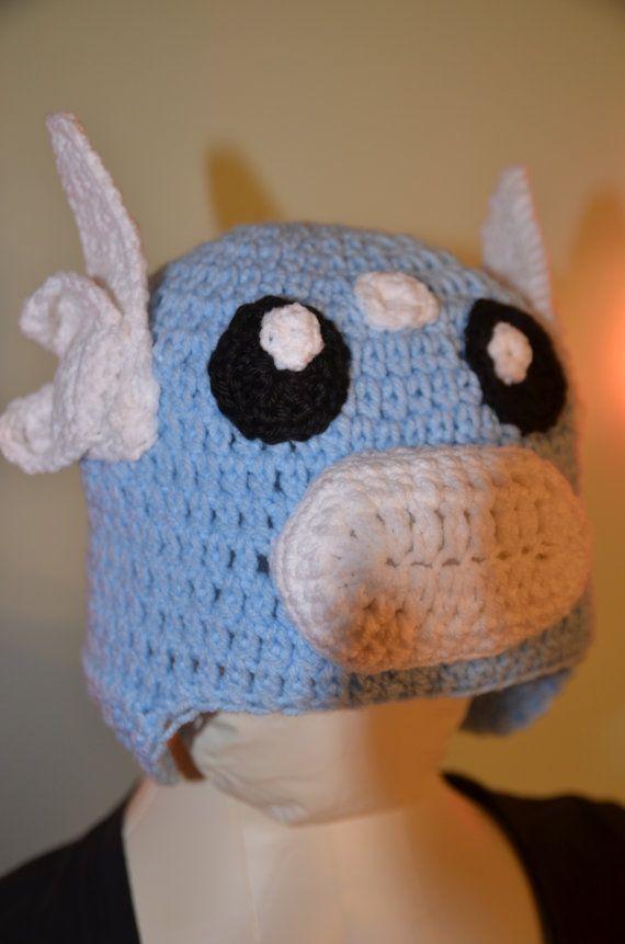 Dratini Crochet Hat Pattern Teen & Adult Sizes by FoofAndCompany ...