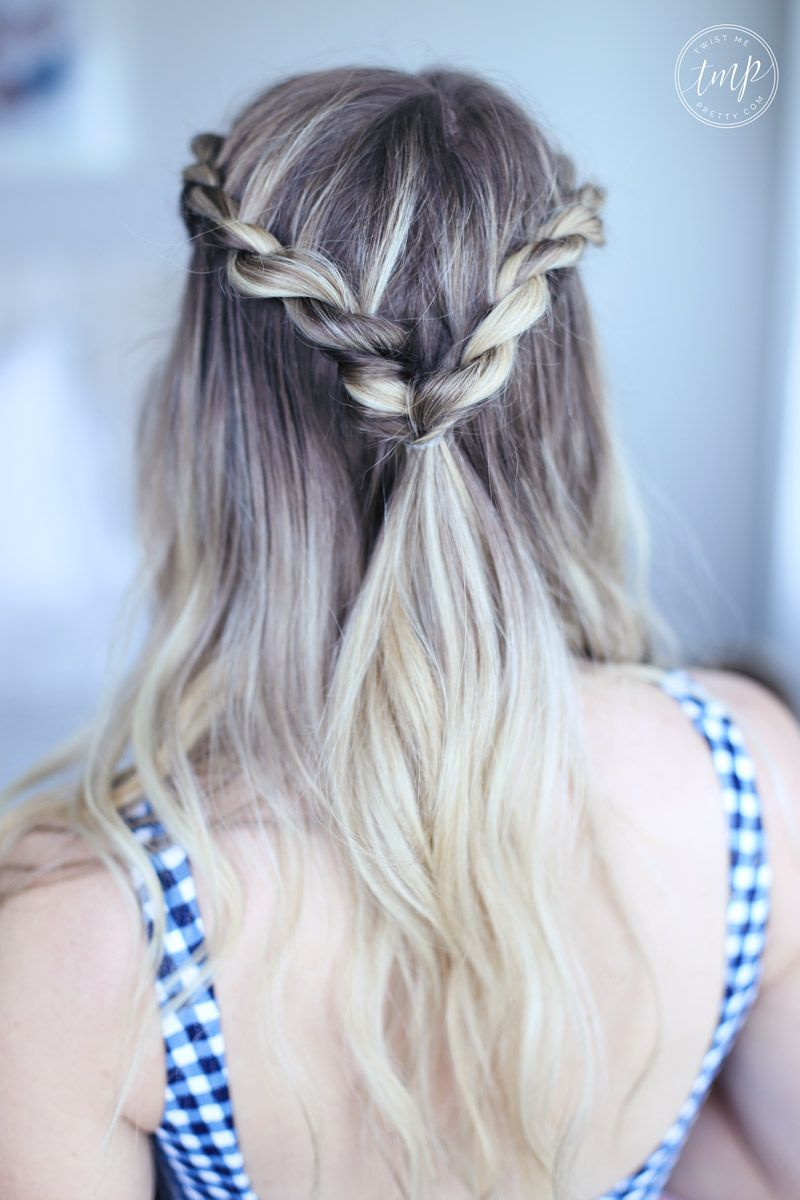 Cute Summer Twists  Hair styles, Twist hairstyles, Long hair styles