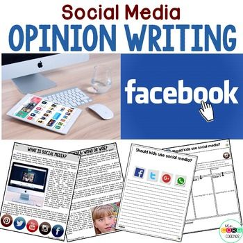 Social Media Paired Texts: Great For Argumentative, Opinion Essays