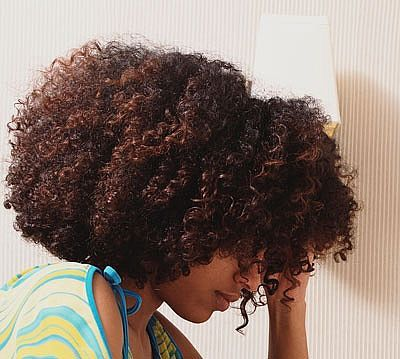 Natural hair is never boring, it's just natural.