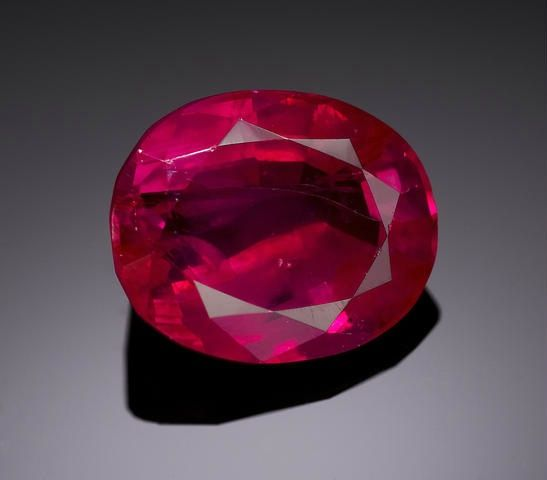 Natural Burmese Ruby From Burma Probably Mined In The