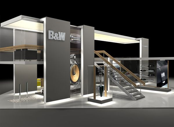 Exhibition Booth Design Las Vegas : Bowers wilkins ces las vegas on behance inspiring trade