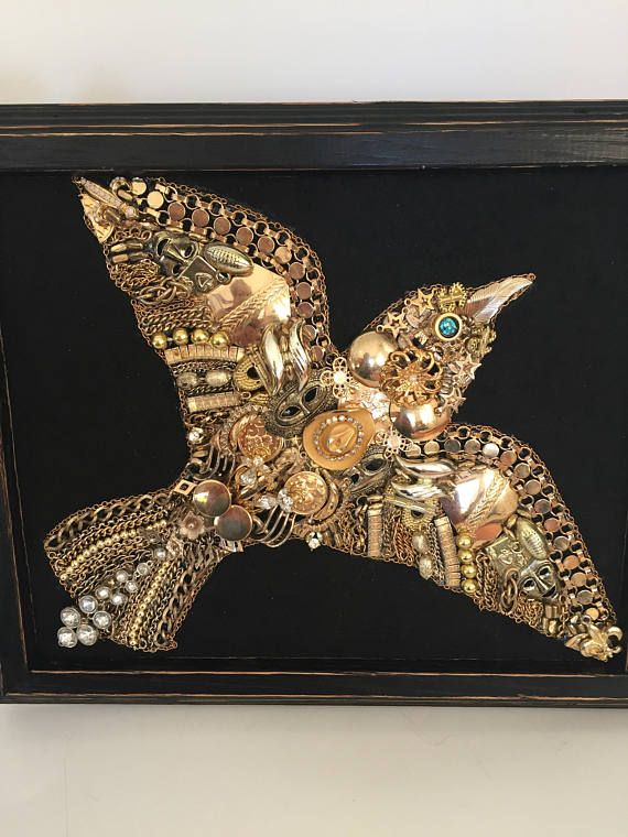 Jewelry Art Framed Jewelry Art Jewelry Art Jewelry Pictures Vintage Jewelry Art Old Jewelry Crafts Vintage Jewelry Ideas