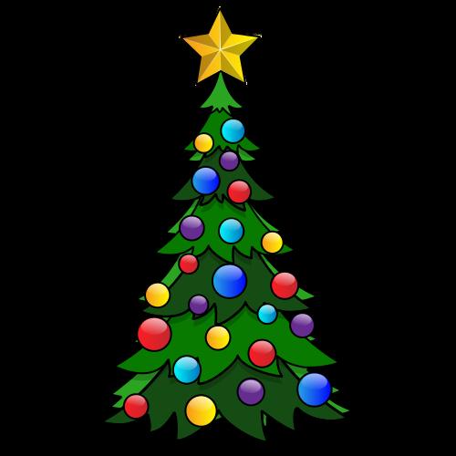 Chrismas Tree Coloring