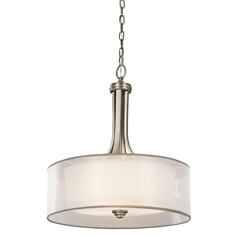 View The Kichler 42385 Lacey 3-Bulb Indoor Pendant With