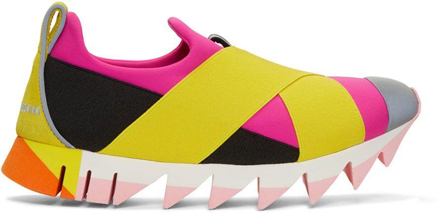 \u0026 Gabbana Pink \u0026 Yellow Ibiza Slip