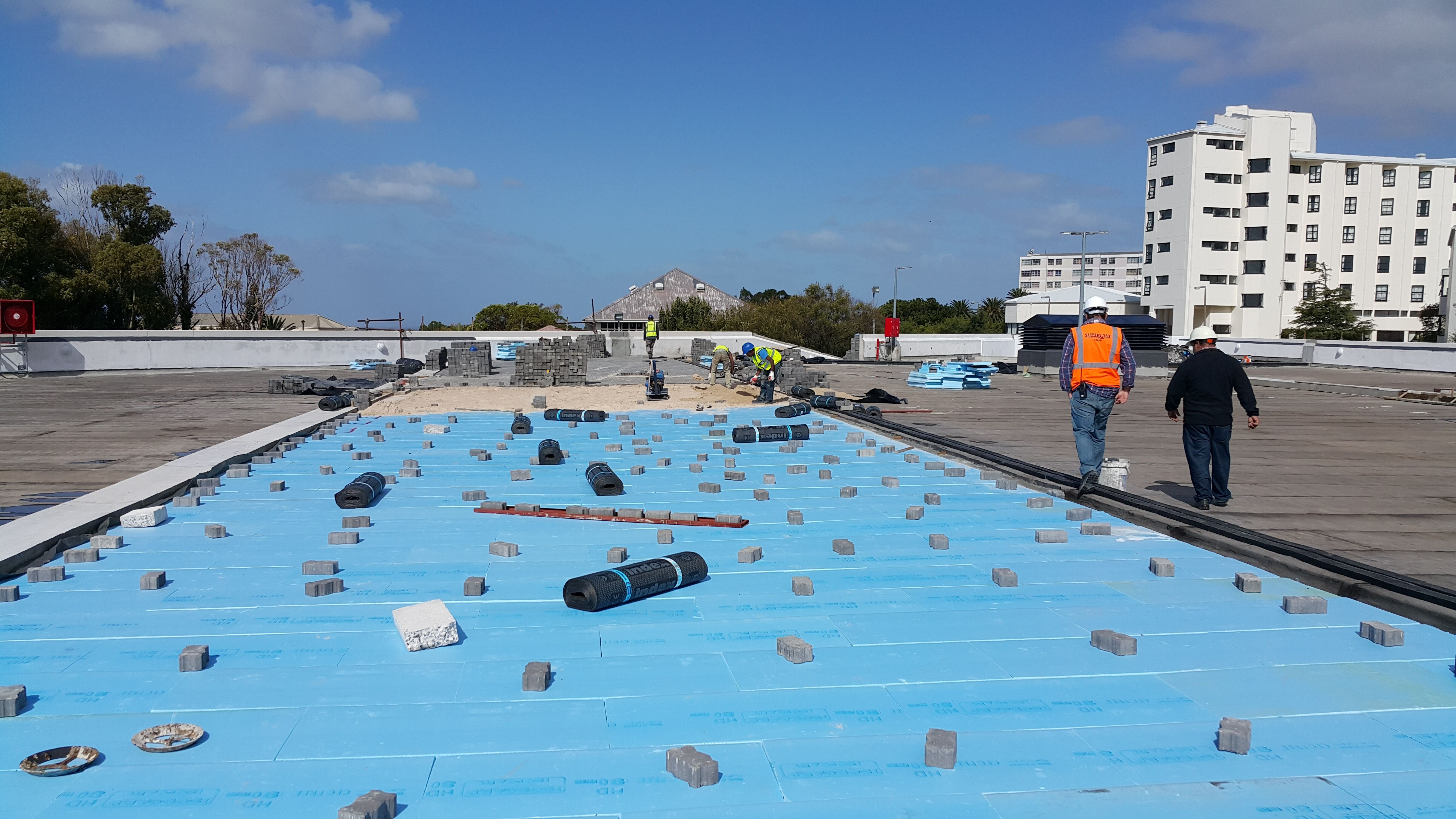 Inverted Roof Roof Insulation Roof Installation Roof Thermal Insulation