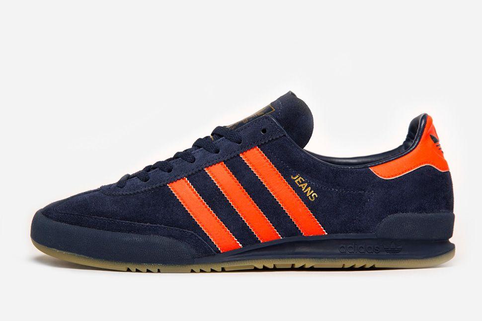 adidas jeans orange