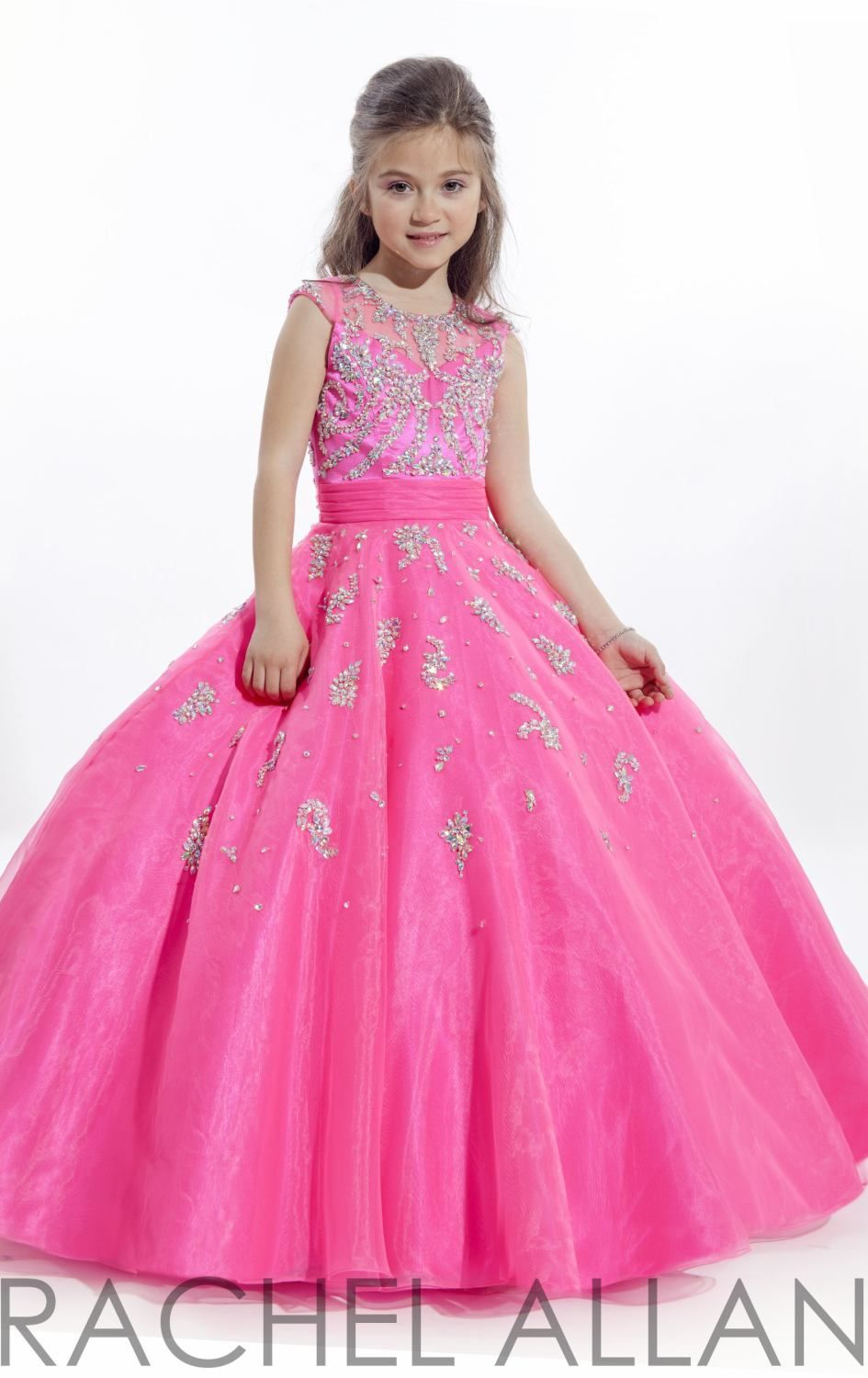 Dress For Girls 5 Years  Girls pageant gowns, Girls birthday