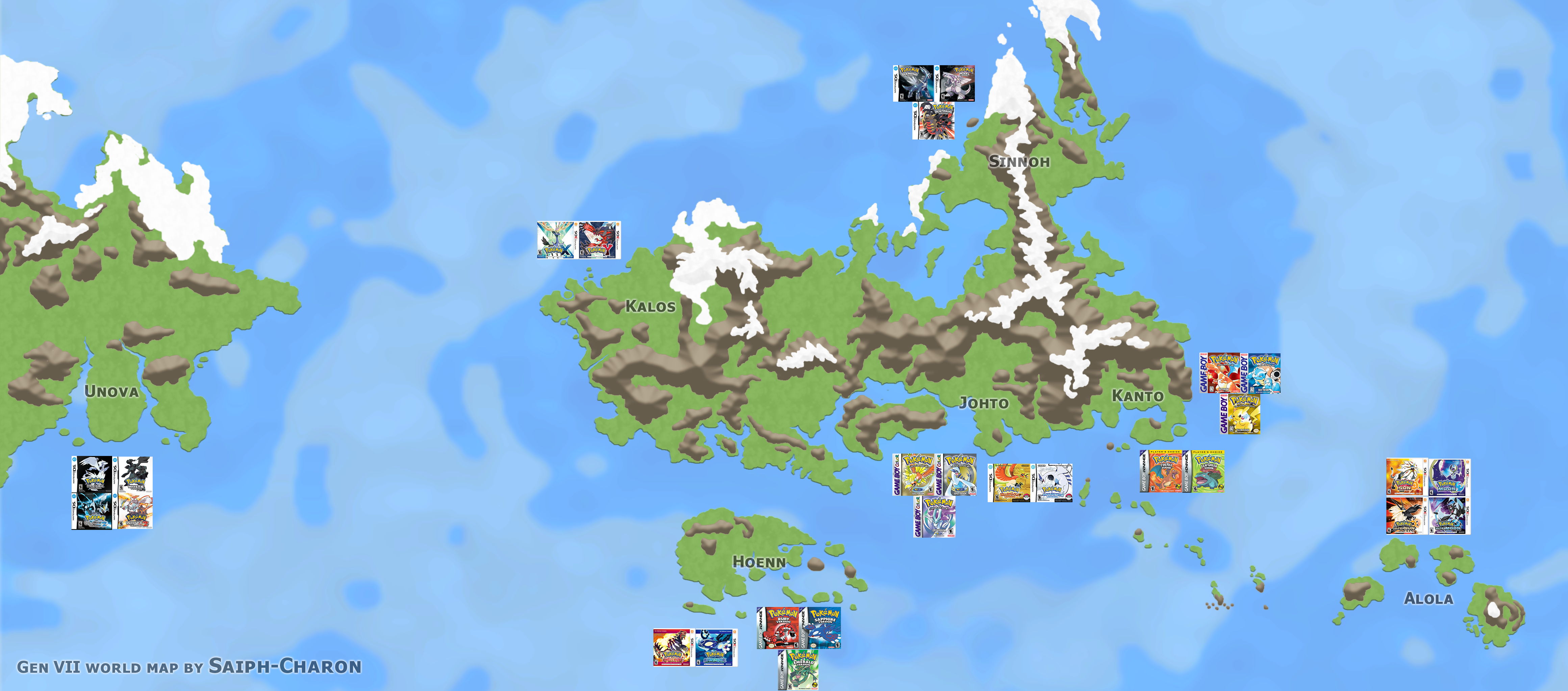 gen vii pkmn world map main games