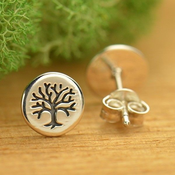 Details About Sterling Silver 925 Tree Of Life Stamped