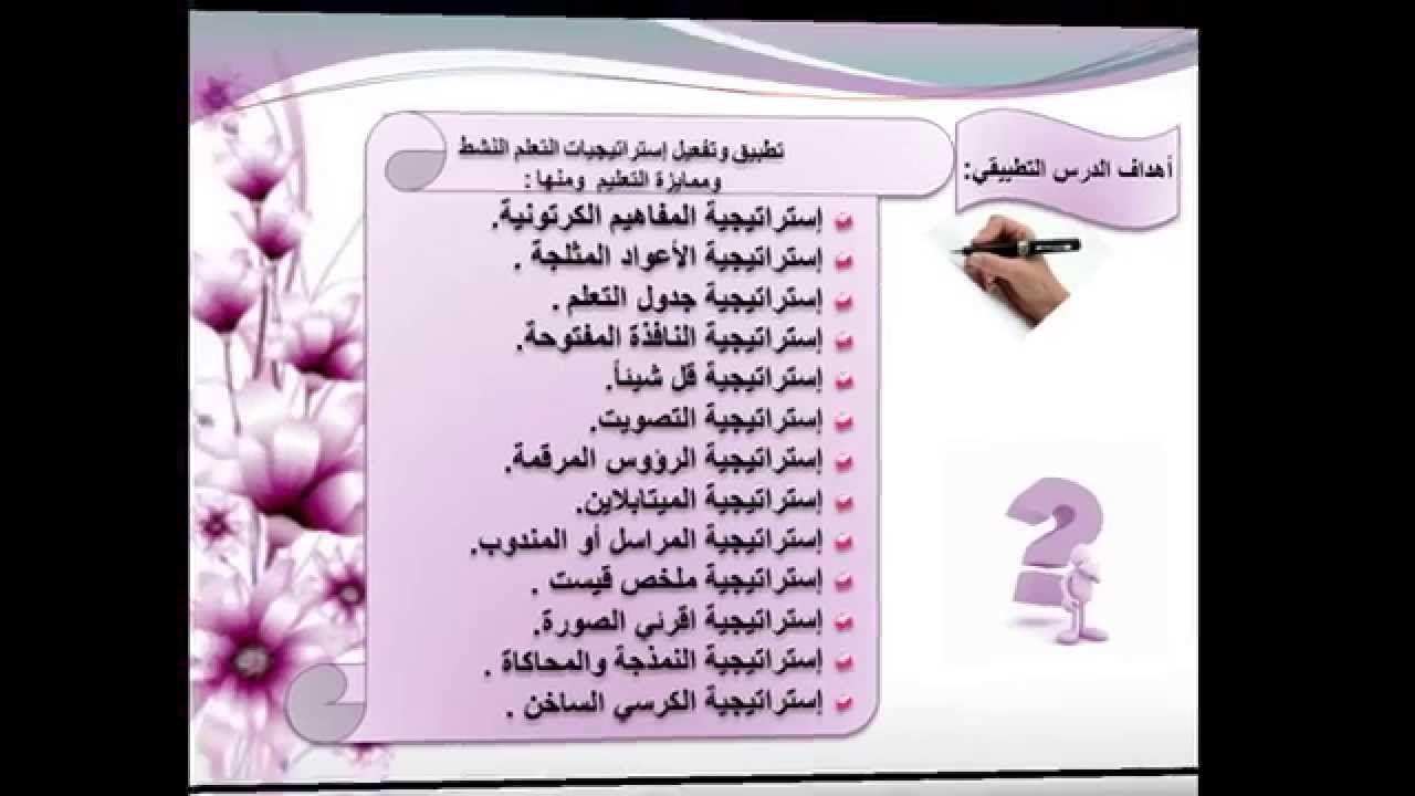 درس تطبيقي لمجموعة من استراتيجيات التعلم النشط Arabic Alphabet Letters Arabic Worksheets Lettering Alphabet