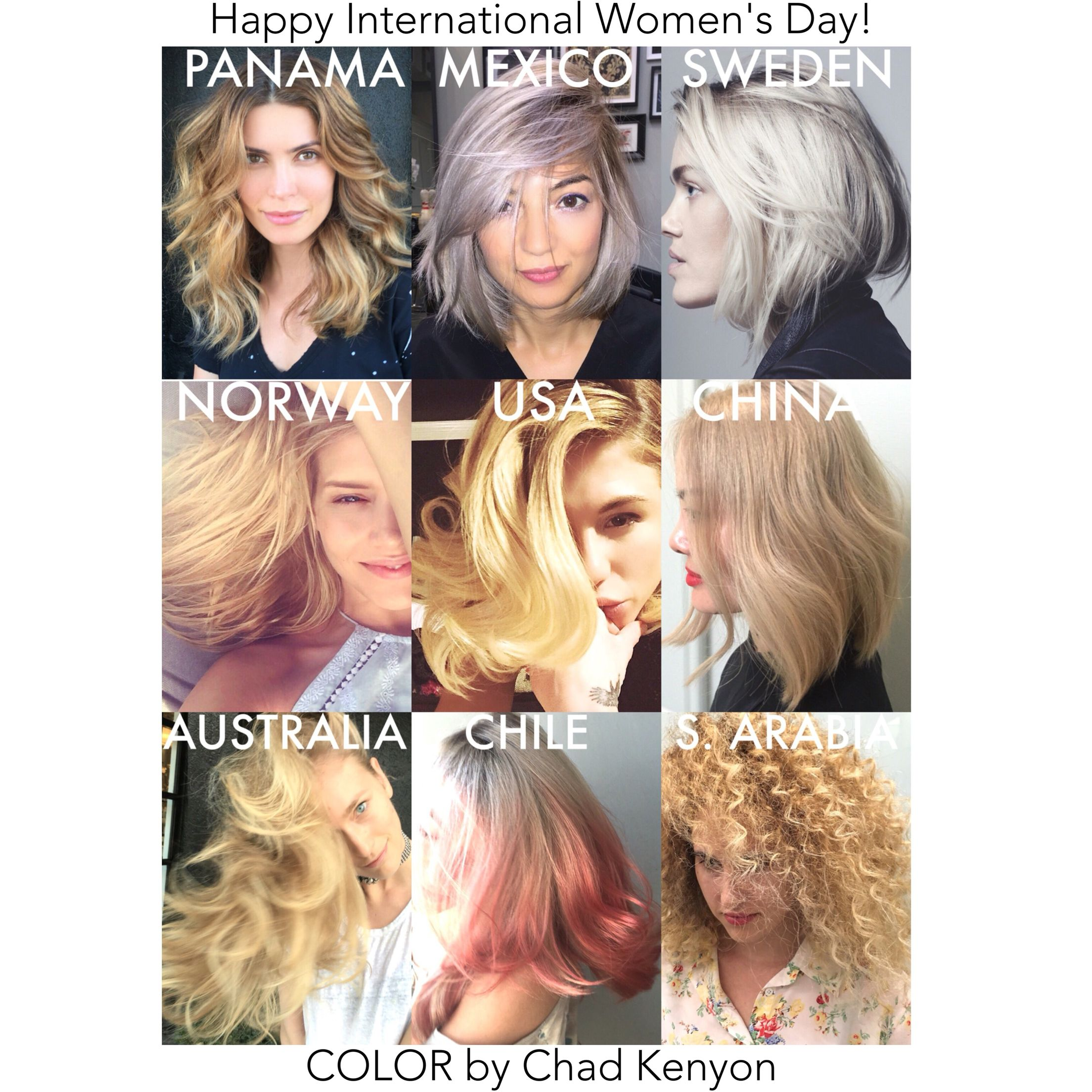 Chad Kenyon Hair Colorist LA/NYC/LatinAmerica ChadKenyon.com Color ...