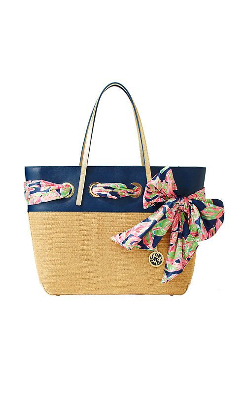 Straw Resort Tote - Lilly Pulitzer