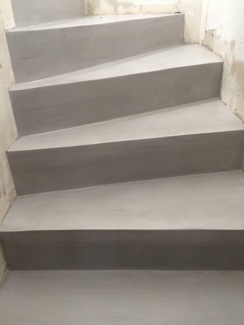 escalier en b ton cir marseille escaliers pinterest. Black Bedroom Furniture Sets. Home Design Ideas