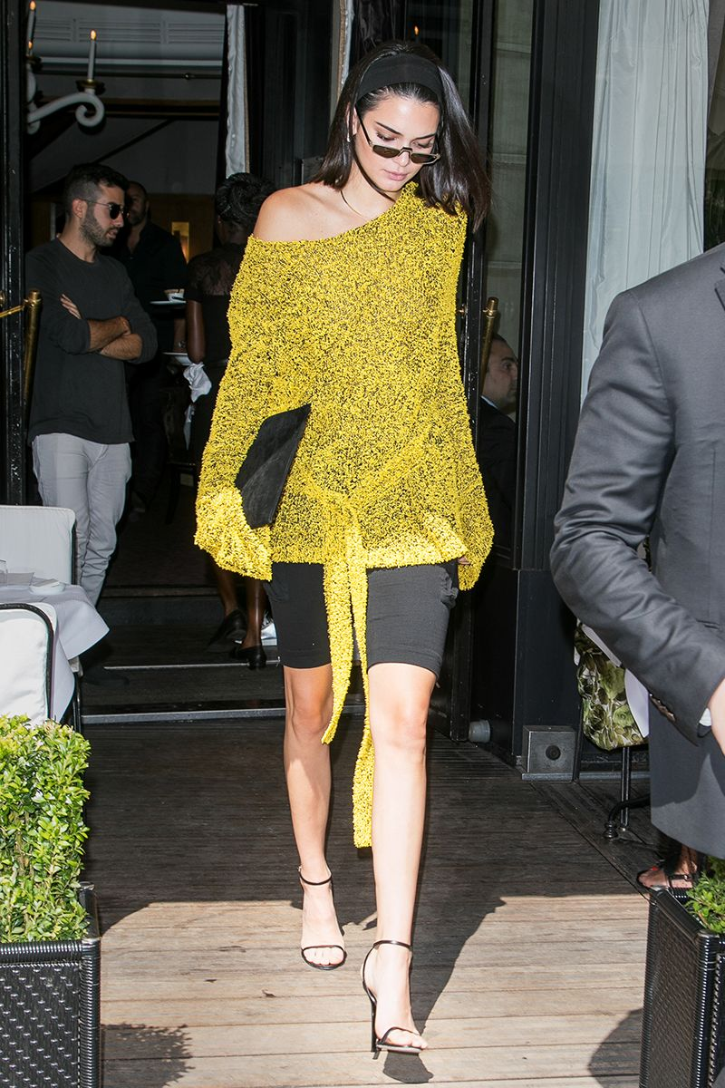 809cea9fee2 Kendall Jenner Wore Head-To-Toe White And Made It Look Edgy