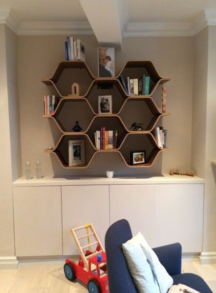 Honeycomb centre Child\u0027s play Pinterest Wall mount, Shelves
