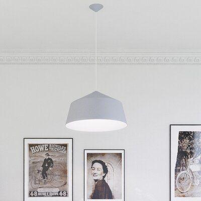 Ebern Designs Julee 1 - Light Single Cone Pendant | Wayfair.ca
